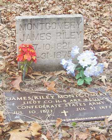 MONTGOMERY, JAMES RILEY - Izard County, Arkansas | JAMES RILEY MONTGOMERY - Arkansas Gravestone Photos