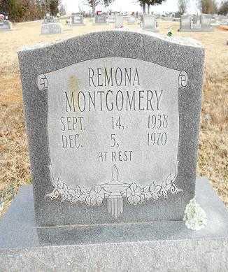 MONTGOMERY, REMONA MERLENE - Izard County, Arkansas | REMONA MERLENE MONTGOMERY - Arkansas Gravestone Photos