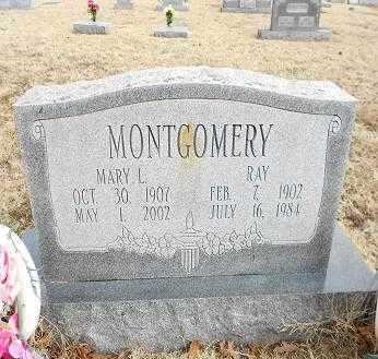 MONTGOMERY, RAY - Izard County, Arkansas   RAY MONTGOMERY - Arkansas Gravestone Photos