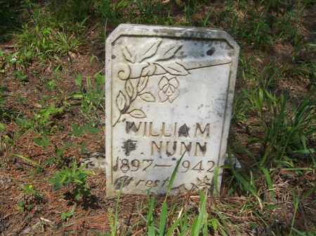 NUNN, WILLIAM - Izard County, Arkansas | WILLIAM NUNN - Arkansas Gravestone Photos