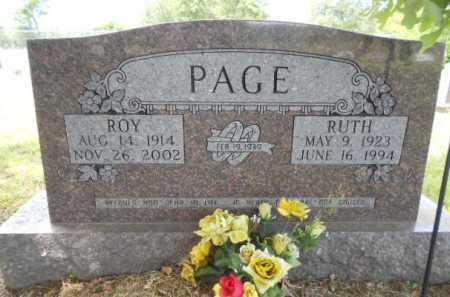 PAGE, MELBA RUTH - Izard County, Arkansas | MELBA RUTH PAGE - Arkansas Gravestone Photos