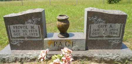 PAGE, PRIVOL MAY - Izard County, Arkansas | PRIVOL MAY PAGE - Arkansas Gravestone Photos