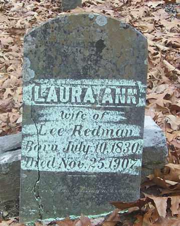 REDMAN, LAURA ANN - Izard County, Arkansas   LAURA ANN REDMAN - Arkansas Gravestone Photos