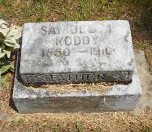 RODDY, SAMUEL JOHNSON - Izard County, Arkansas | SAMUEL JOHNSON RODDY - Arkansas Gravestone Photos