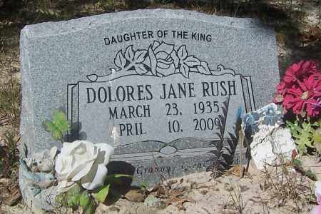 STANLEY RUSH, DOLORES JANE (OBIT) - Izard County, Arkansas | DOLORES JANE (OBIT) STANLEY RUSH - Arkansas Gravestone Photos