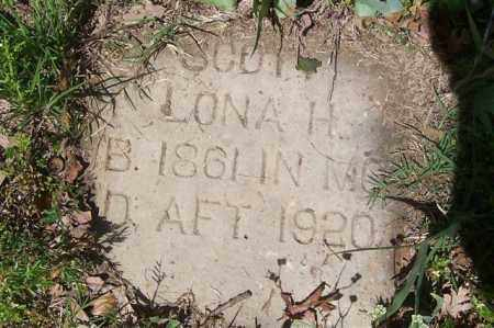 SCOTT, LONA H. - Izard County, Arkansas | LONA H. SCOTT - Arkansas Gravestone Photos
