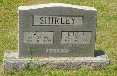 SHIRLEY, EFFIE LEE - Izard County, Arkansas | EFFIE LEE SHIRLEY - Arkansas Gravestone Photos