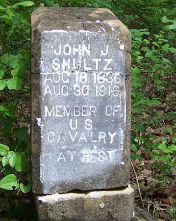 SHULTZ (VETERAN), JOHN J - Izard County, Arkansas | JOHN J SHULTZ (VETERAN) - Arkansas Gravestone Photos