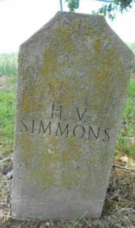 WOOD SIMMONS, HANNAH VIRGINIA - Izard County, Arkansas | HANNAH VIRGINIA WOOD SIMMONS - Arkansas Gravestone Photos