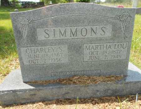 "GRAY SIMMONS, MARTHA LOUCINDA ""LOU"" - Izard County, Arkansas | MARTHA LOUCINDA ""LOU"" GRAY SIMMONS - Arkansas Gravestone Photos"