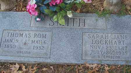 SMITH, THOMAS ROM - Izard County, Arkansas | THOMAS ROM SMITH - Arkansas Gravestone Photos
