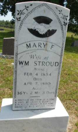 STROUD, MARY FRANCES - Izard County, Arkansas | MARY FRANCES STROUD - Arkansas Gravestone Photos