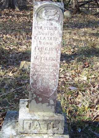 STUBBS, EVA - Izard County, Arkansas | EVA STUBBS - Arkansas Gravestone Photos