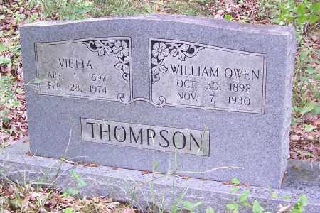 THOMPSON, WILLIAM OWEN - Izard County, Arkansas   WILLIAM OWEN THOMPSON - Arkansas Gravestone Photos