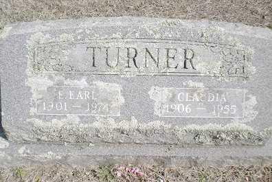 TURNER, CLAUDIA RUBY - Izard County, Arkansas   CLAUDIA RUBY TURNER - Arkansas Gravestone Photos