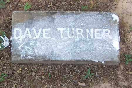 TURNER, DAVE - Izard County, Arkansas | DAVE TURNER - Arkansas Gravestone Photos