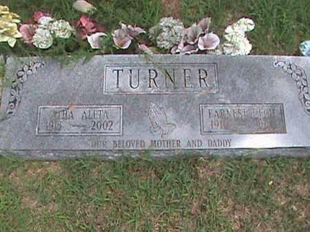TURNER, EARNEST CECIL - Izard County, Arkansas | EARNEST CECIL TURNER - Arkansas Gravestone Photos