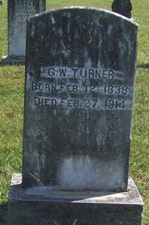 TURNER, GEORGE W. - Izard County, Arkansas | GEORGE W. TURNER - Arkansas Gravestone Photos