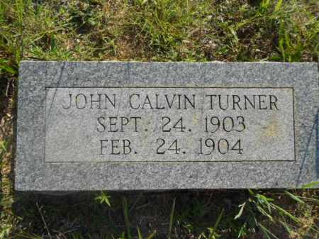 TURNER, JOHN CALVIN - Izard County, Arkansas   JOHN CALVIN TURNER - Arkansas Gravestone Photos