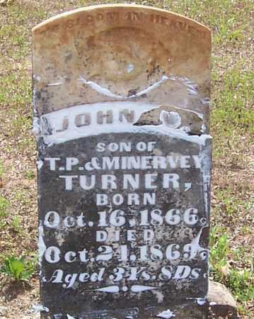 TURNER, JOHN - Izard County, Arkansas | JOHN TURNER - Arkansas Gravestone Photos