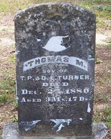 TURNER, THOMAS M. - Izard County, Arkansas | THOMAS M. TURNER - Arkansas Gravestone Photos