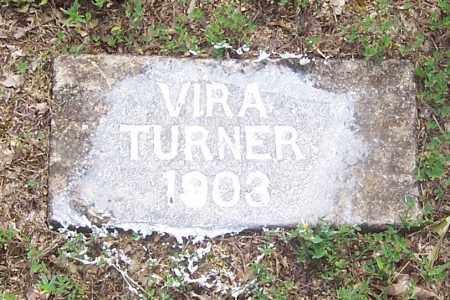 TURNER, VIRA - Izard County, Arkansas | VIRA TURNER - Arkansas Gravestone Photos