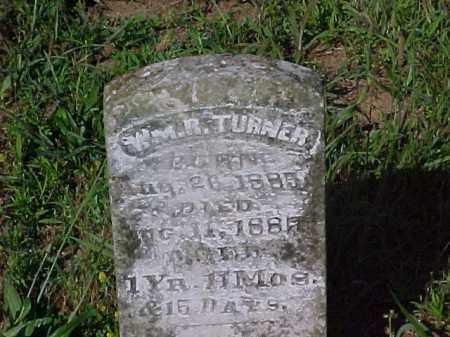 TURNER, WILLIAM R - Izard County, Arkansas | WILLIAM R TURNER - Arkansas Gravestone Photos