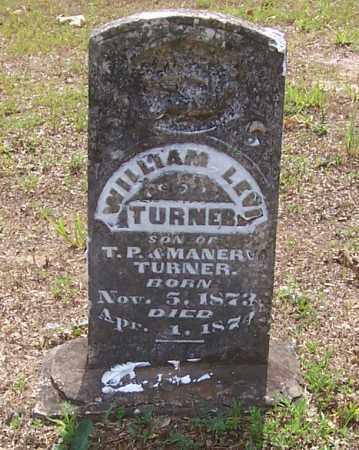TURNER, WILLIAM LEVI - Izard County, Arkansas | WILLIAM LEVI TURNER - Arkansas Gravestone Photos