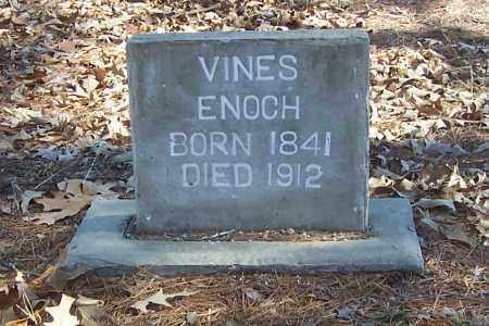 VINES, ENOCH - Izard County, Arkansas | ENOCH VINES - Arkansas Gravestone Photos