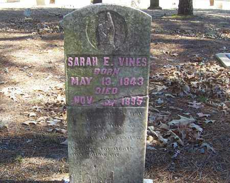 DOHERTY VINES, SARAH E. - Izard County, Arkansas | SARAH E. DOHERTY VINES - Arkansas Gravestone Photos