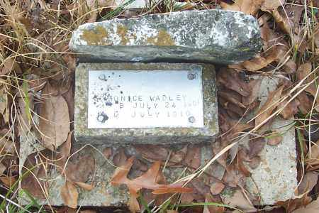 WADLEY, EUNICE - Izard County, Arkansas | EUNICE WADLEY - Arkansas Gravestone Photos