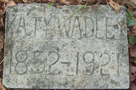 "WADLEY, MATILDA CATHRYN ""KATY"" - Izard County, Arkansas | MATILDA CATHRYN ""KATY"" WADLEY - Arkansas Gravestone Photos"