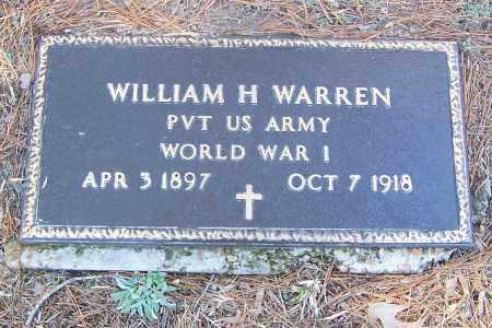 WARREN (VETERAN WWI), WILLIAM H. - Izard County, Arkansas | WILLIAM H. WARREN (VETERAN WWI) - Arkansas Gravestone Photos