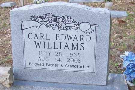 WILLIAMS, CARL EDWARD - Izard County, Arkansas   CARL EDWARD WILLIAMS - Arkansas Gravestone Photos