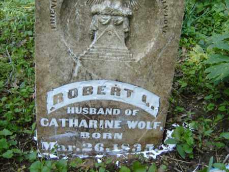 WOLF, ROBERT L - Izard County, Arkansas   ROBERT L WOLF - Arkansas Gravestone Photos