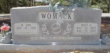 WOMACK, BILLY J - Izard County, Arkansas | BILLY J WOMACK - Arkansas Gravestone Photos