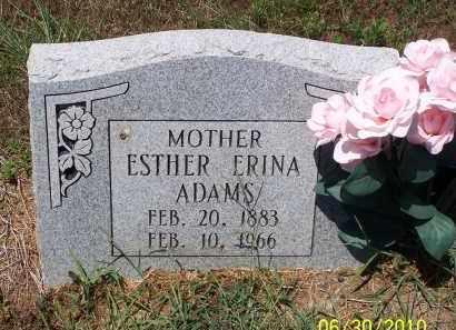 ADAMS, ESTHER ERINA - Jackson County, Arkansas | ESTHER ERINA ADAMS - Arkansas Gravestone Photos