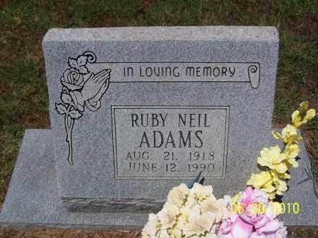 ADAMS, RUBY - Jackson County, Arkansas | RUBY ADAMS - Arkansas Gravestone Photos
