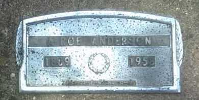ANDERSON, A ROE - Jackson County, Arkansas | A ROE ANDERSON - Arkansas Gravestone Photos