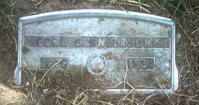 ANDERSON, CORA O (PIC 2) - Jackson County, Arkansas | CORA O (PIC 2) ANDERSON - Arkansas Gravestone Photos