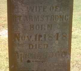 ARMSTRONG, SUSAN F (CLOSE UP) - Jackson County, Arkansas   SUSAN F (CLOSE UP) ARMSTRONG - Arkansas Gravestone Photos