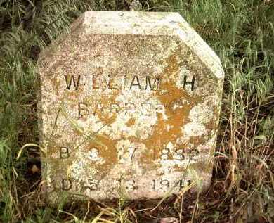 BARBER, WILLIAM H - Jackson County, Arkansas | WILLIAM H BARBER - Arkansas Gravestone Photos