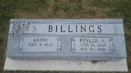 BILLINGS, PHYLLIS A. - Jackson County, Arkansas | PHYLLIS A. BILLINGS - Arkansas Gravestone Photos