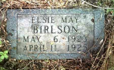 BIRLSON, ELSIE MAY - Jackson County, Arkansas   ELSIE MAY BIRLSON - Arkansas Gravestone Photos