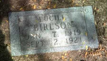 BIRLSON, LUCILL - Jackson County, Arkansas | LUCILL BIRLSON - Arkansas Gravestone Photos