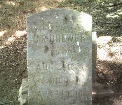 BREWER, C R - Jackson County, Arkansas | C R BREWER - Arkansas Gravestone Photos