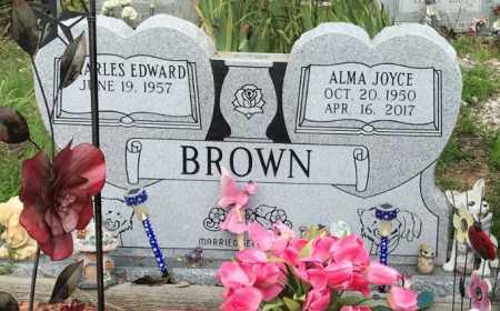 BROWN, ALMA JOYCE - Jackson County, Arkansas | ALMA JOYCE BROWN - Arkansas Gravestone Photos