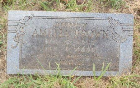 BROWN, AMELIA - Jackson County, Arkansas | AMELIA BROWN - Arkansas Gravestone Photos
