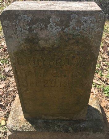 BROWN, BABY - Jackson County, Arkansas | BABY BROWN - Arkansas Gravestone Photos