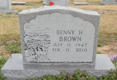 BROWN, BENNY H. - Jackson County, Arkansas | BENNY H. BROWN - Arkansas Gravestone Photos